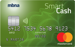 mbna cash back credit card