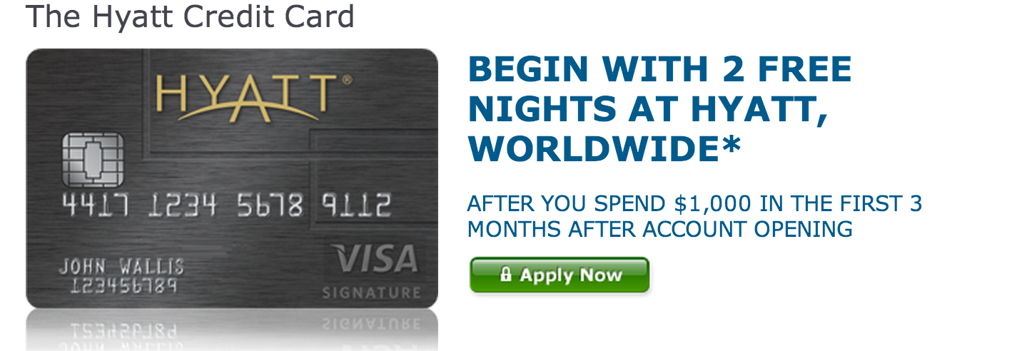 Taking advantage of the best credit card sign up bonuses offers hyatt 2 free nights reheart Image collections