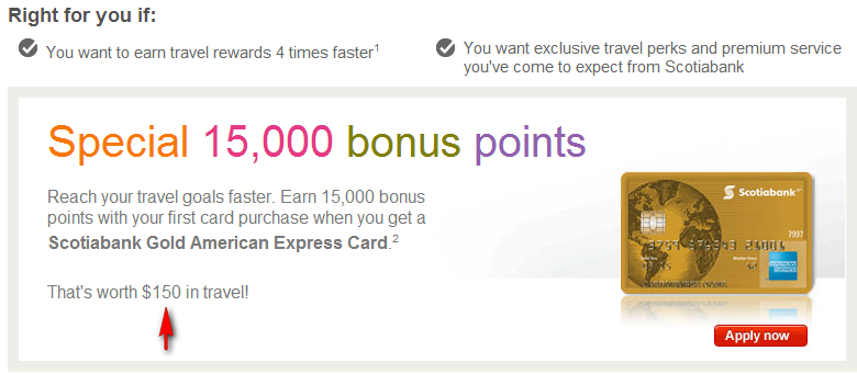 Scotiabank American Express Gold Card Travel Insurance