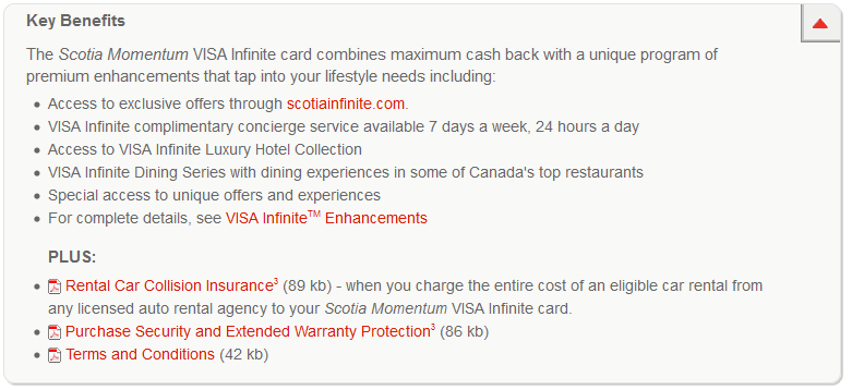 Scotiabank Momentum Visa Infinite Card Review