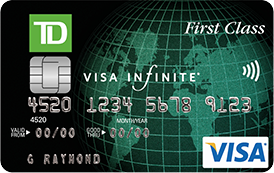 Td Visa Infinite >> Best 5 Fixed Value Points & Rewards Credit Cards in Canada ...