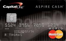 1- Aspire Cash Mastercard