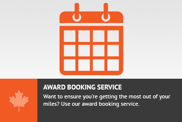 Award Booking Service