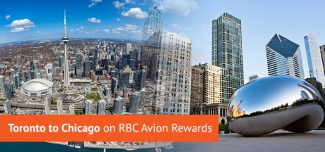Toronto to Chicago Flights on RBC Avion Rewards