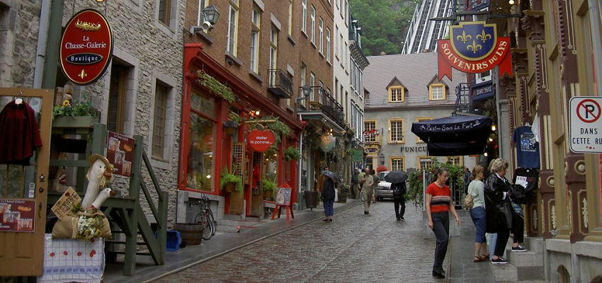 Marriage Proposal in Quebec City: Accomodations