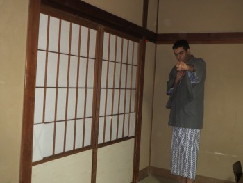 Japanese PJs at Ryokan