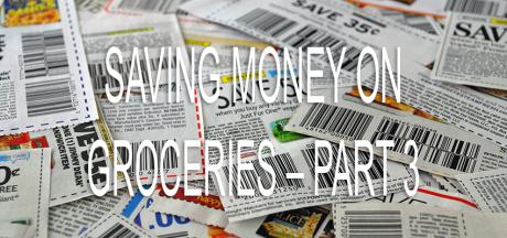 Saving Money on Groceries – Example