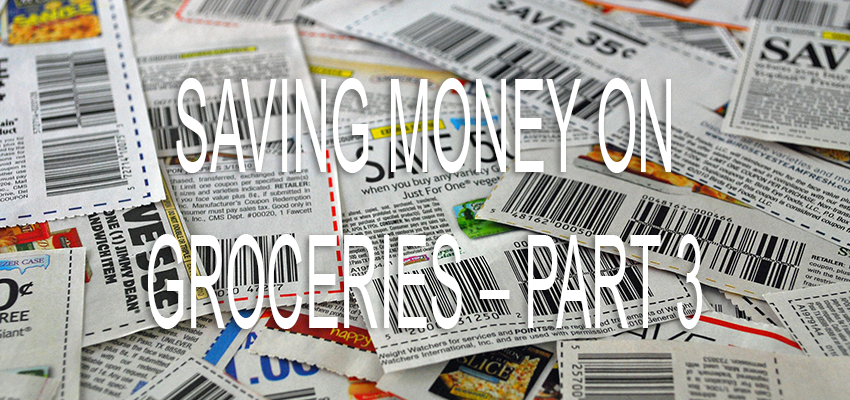Saving Money on Groceries – Example