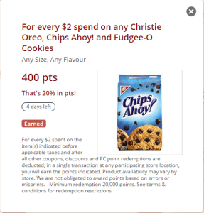 PC Plus Nabisco Cookies 40 PC point