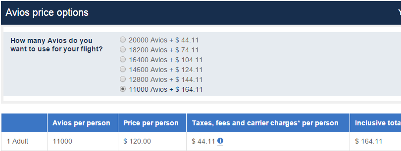 Buy Up Avios