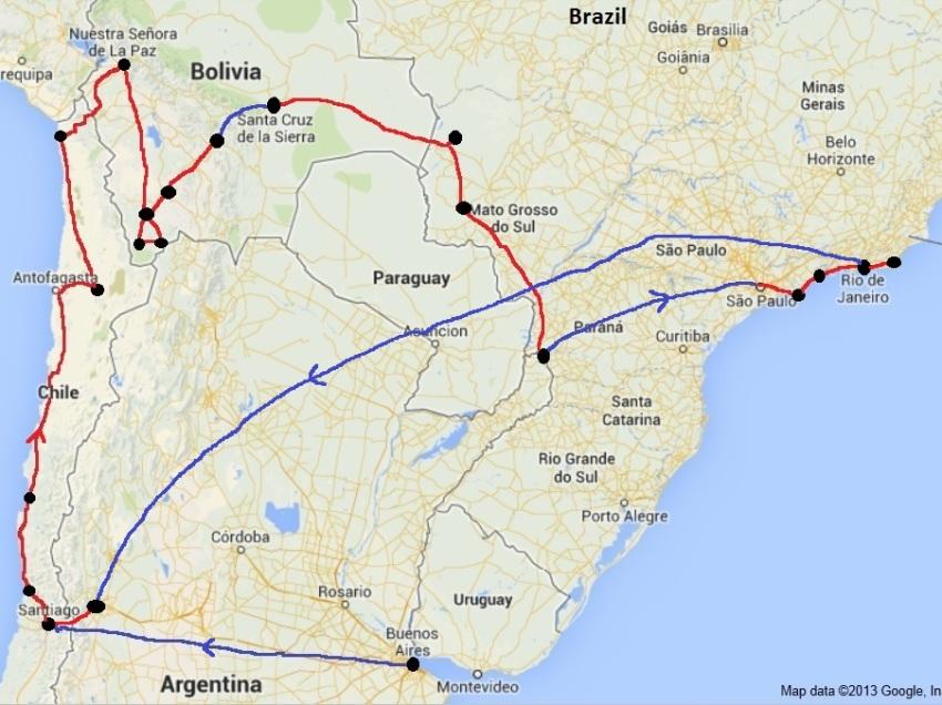 Great Aeroplan Routes