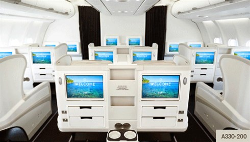 Business class fiji Airlines