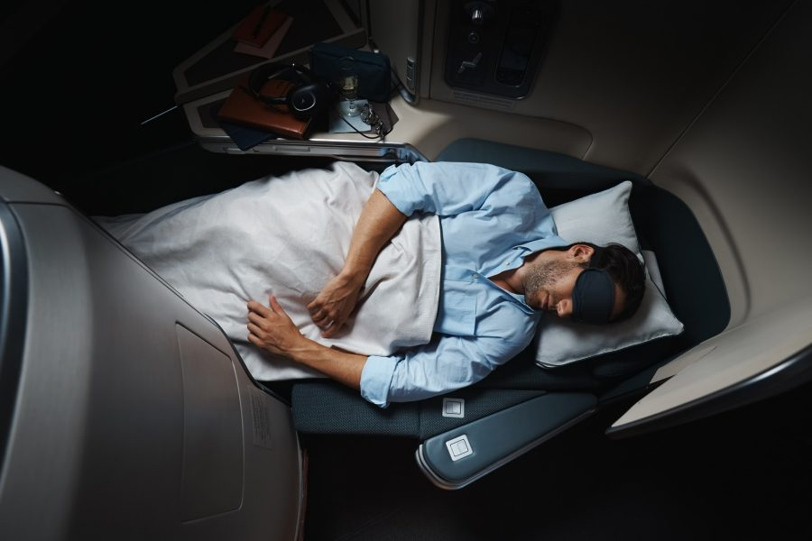 Cathay Pacific Business Class to Australia