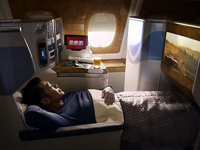 Emirates Business Class to Australia