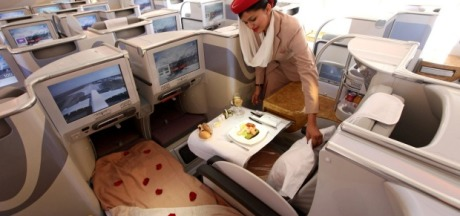 Flying Business Class from Canada to Dubai