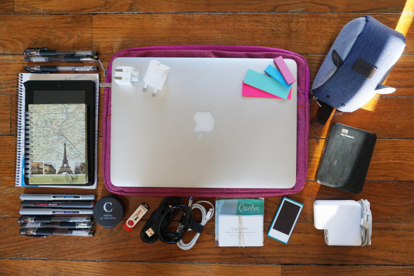 Gigi Griffis' electronic travel gear