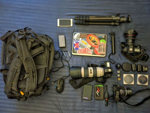 Laurence Norah's electronic travel gear
