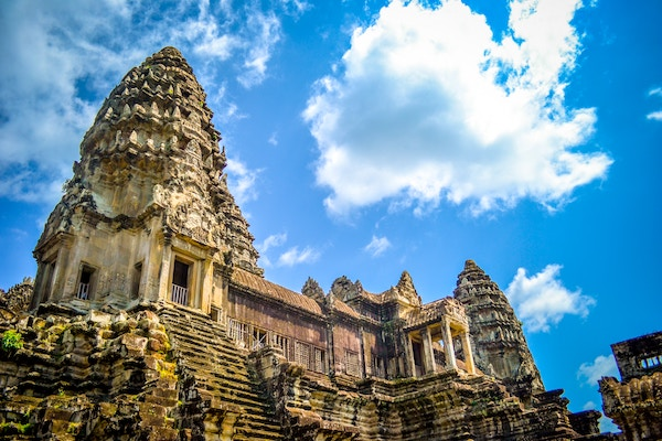 Cambodia's Angor Wat is totally worth visiting with a great exchange rate