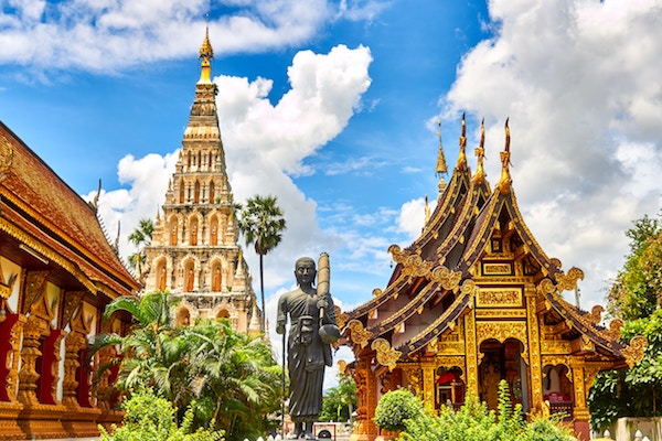 Thailand is a popular backpacker destination for a reason - your money goes really far!