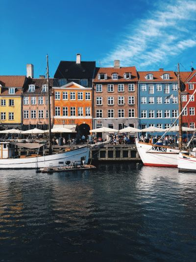 Copenhagen, Denmark, colourful and pricey!