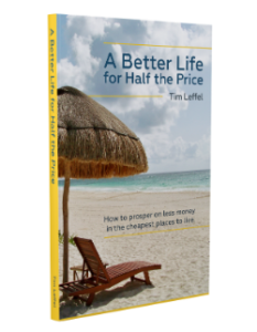 A Better Life for Half the Price book cover - about best places to retire to