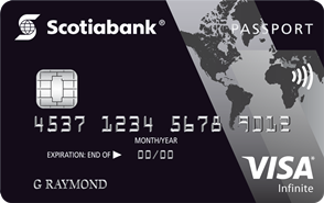 Scotiabank Passport Visa Infinite - best Canadian credit card for travel